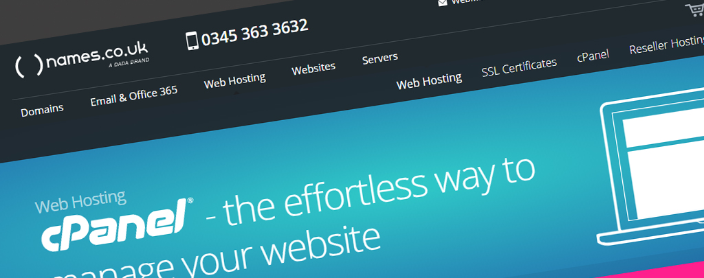 Names.co.uk Premium Secure UK Based WordPress Hosting