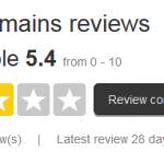 TrustPilot Reviews for CrazyDomains
